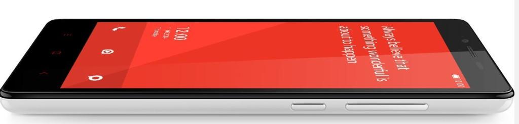 Redmi Note 2 display