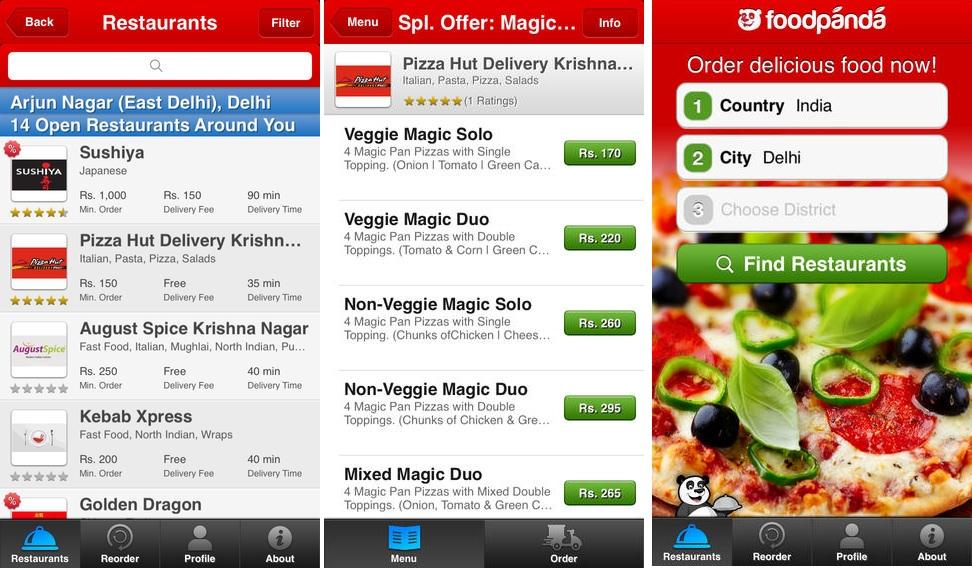 FoodPanda-iOS