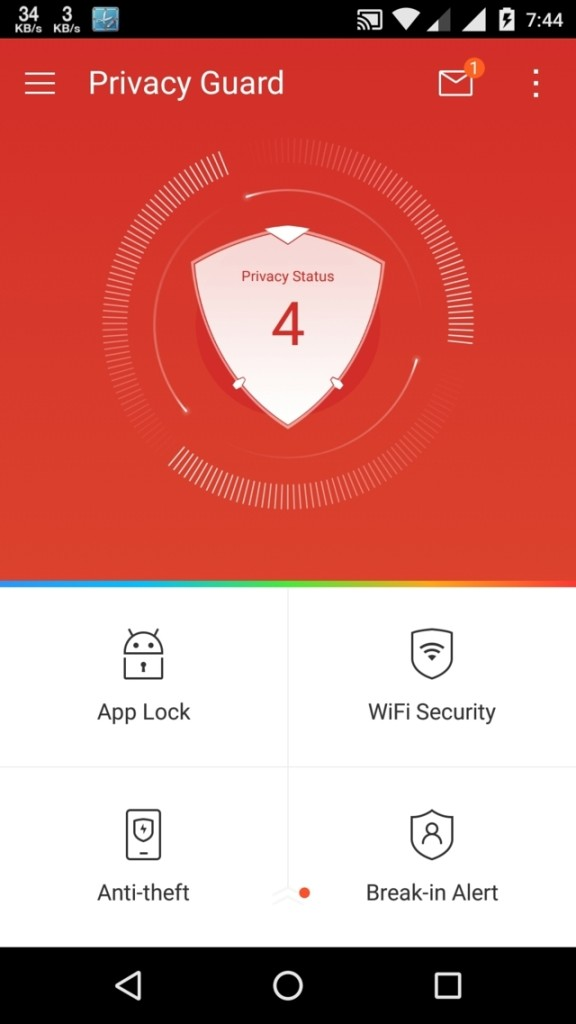 LEO Privacy Guard app lockers