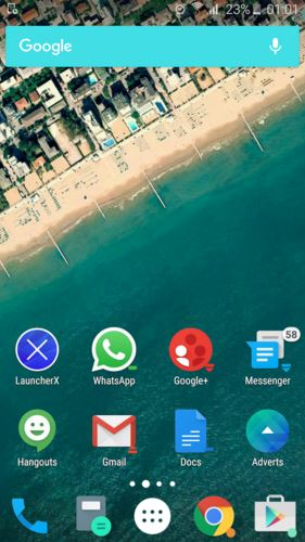Launcher X android launcher