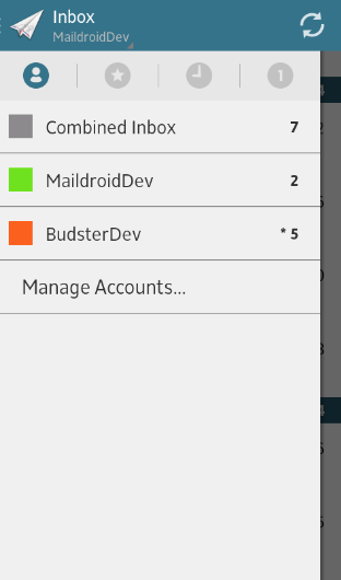 email apps for android - maildroid