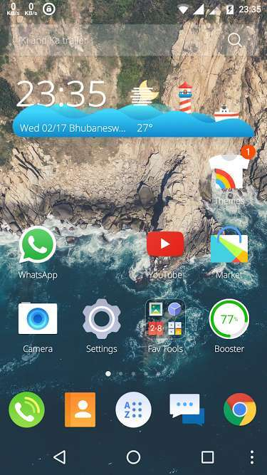Cm launcher 3d review fastest 3 d launcher is it for Wallpaper home launcher