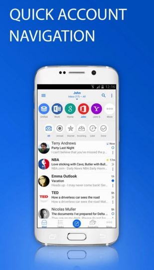 email typeapp - email apps for android