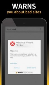 norton security - antivirus for android