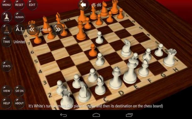 3d chess game - chess games for Android