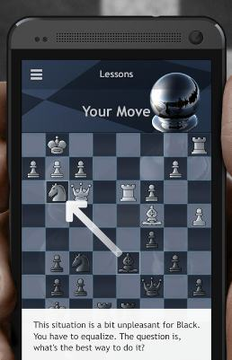 chess play and learn - best free chess games for android