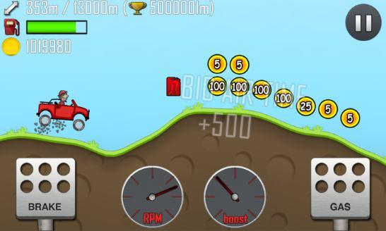 hill climb racing - endless car game