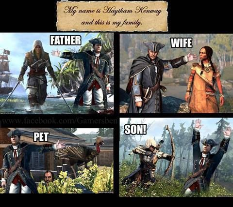 assassin's creed 3 memes