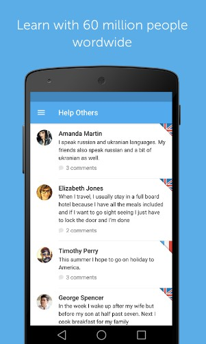 bussu - best android apps for learning english