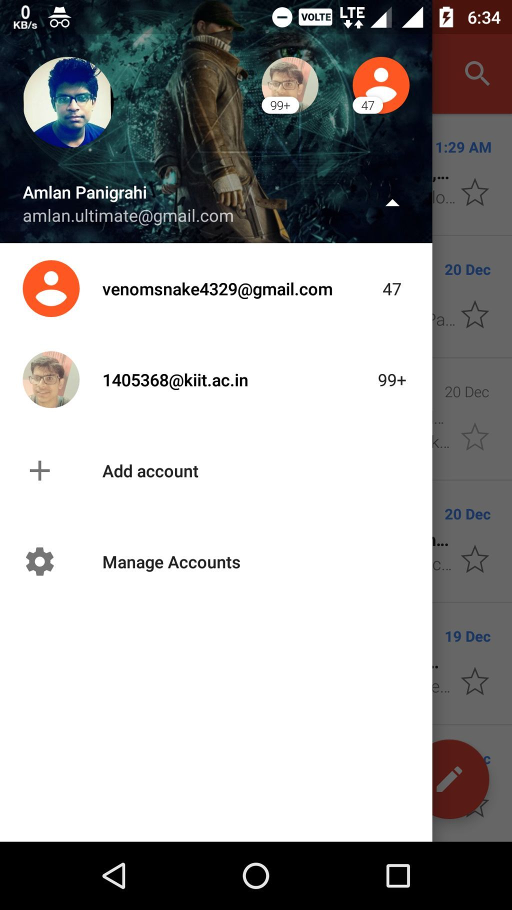how to remove sync contacts from gmail