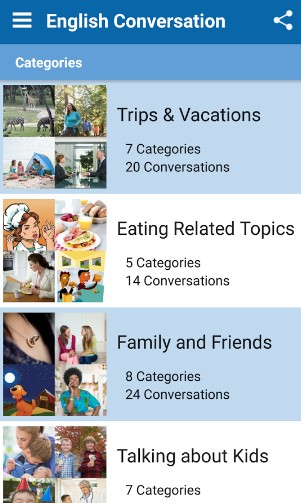 english conversation - best android apps for learning english