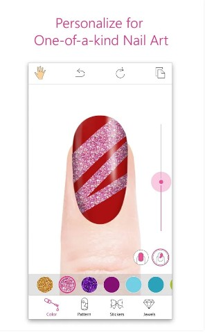 youcam nails - makeup apps for android