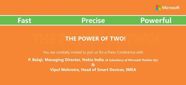 The invitation by Microsoft to Indian Tech Press