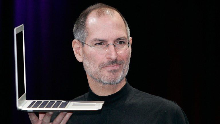 My source of inspiration is Steve Jobs