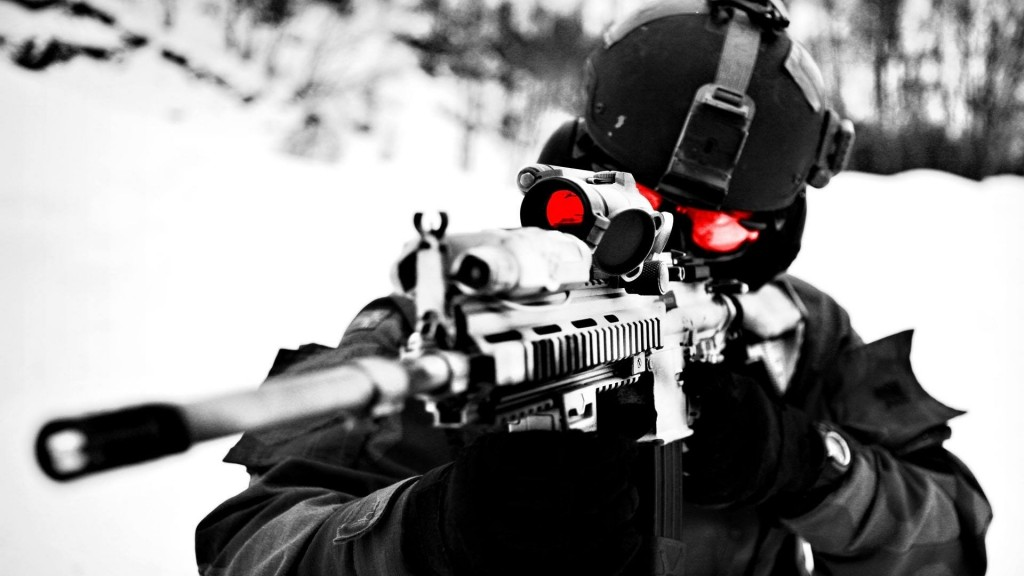 I just love to shoot be it gaming or real life