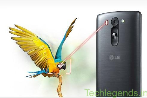 LG G3 Beats laser technology