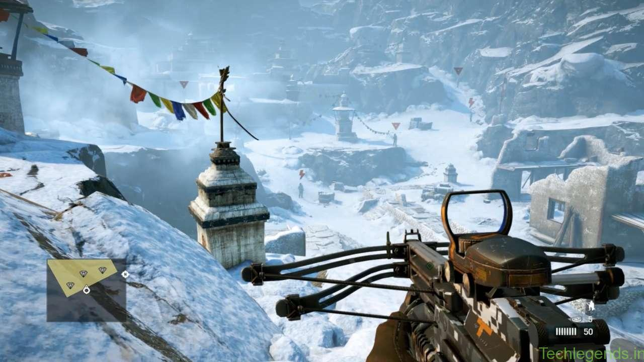 The Auto-Crossbow in Far Cry 4