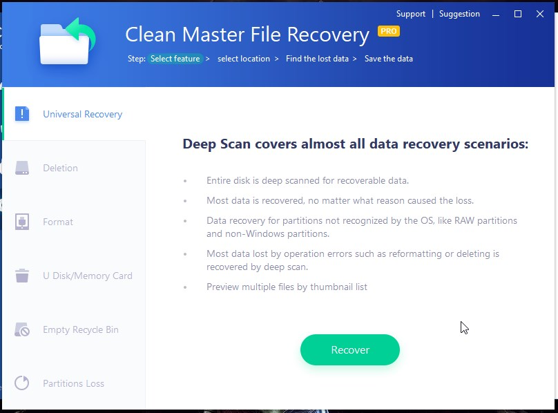 Clean Master For PC : Quick Review 1