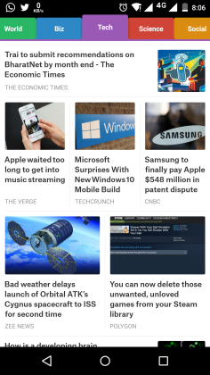 Top 4 Free News Apps For Android This Month 1