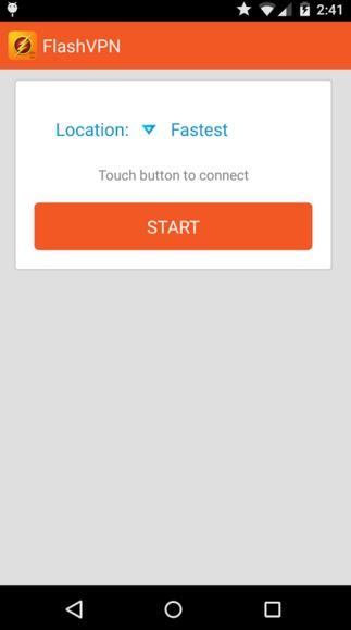 flashVPN - best vpn apps for android
