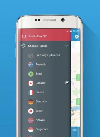 surfeasy secure - best android vpn services
