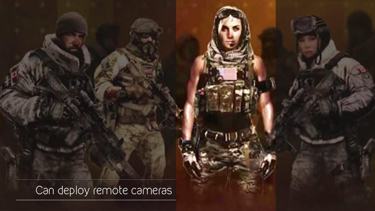 deployable cameras