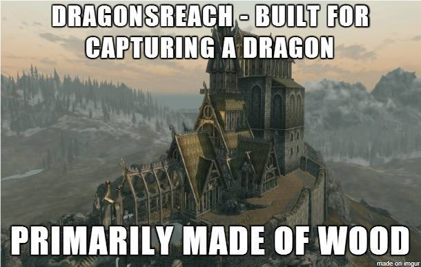 make your own skyrim meme