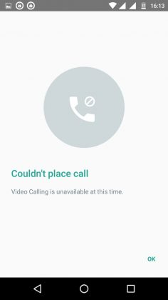 WhatsApp Finally Gets The Video Calling Feature 1