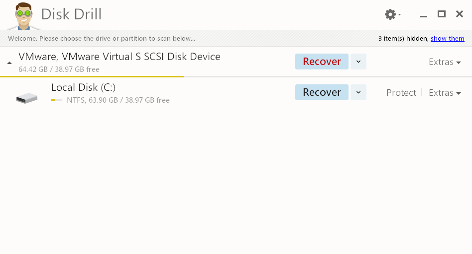 disk drill screenshot