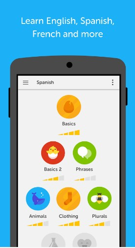 duolingo - best android apps for learning english