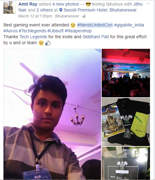 Nerds United Con 2K17: Bhubaneswar Now Becomes A Major Gaming Hub In India 27