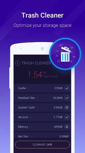 DU Speed booster - android phone cleaner apps