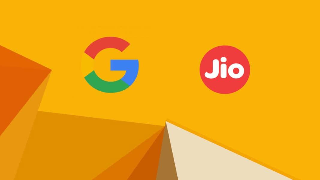 google jio