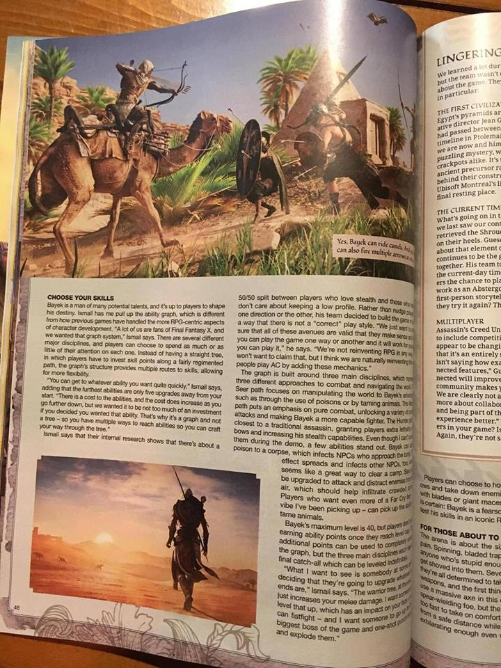 Assassin's Creed Origins Info Leaked : 14 Things You Need To Know 6