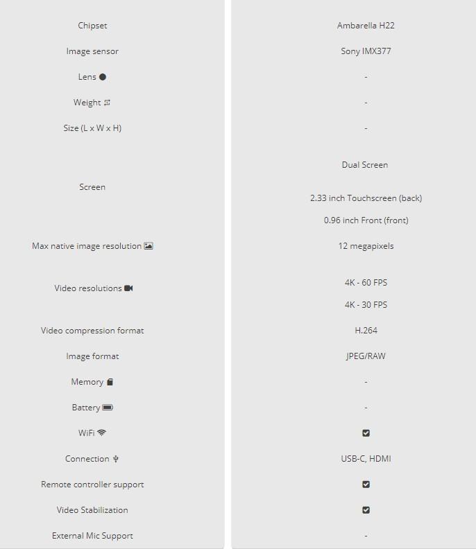 SJCAM SJ8 4K camera LEAKED info and New SJ360 Plus 4
