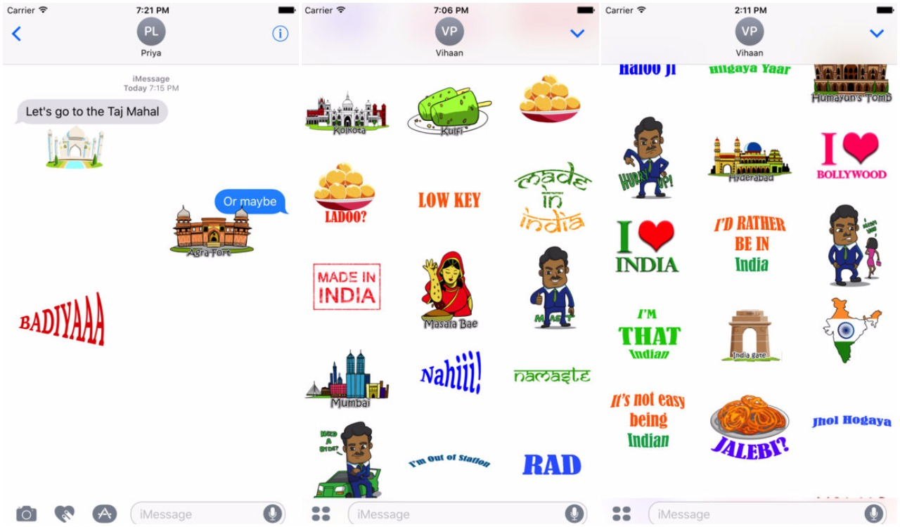 Desi Stickers For iMessage Makes Your Conversation Interesting 1