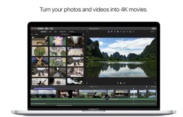 imovie - best slideshow maker for mac
