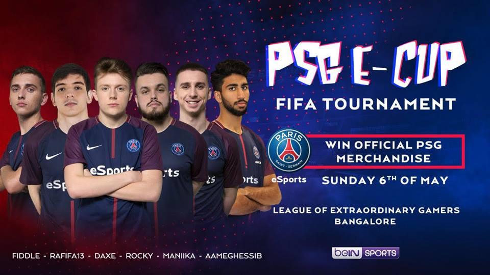 PSG eSports & Kiran Noojibail