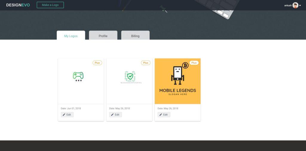 DesignEvo Review: An Effective Online Logo Maker 1