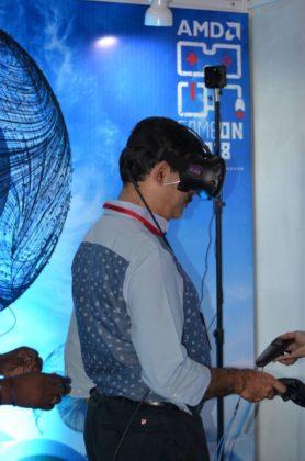 AMD GAMEON 2018: The Dark Horse Of Comic Con Hyderabad 10