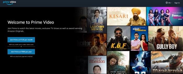 Amazon Prime Video 1
