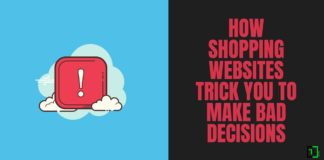 Shopping Websites Trick