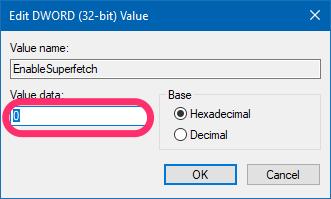 Superfetch Value
