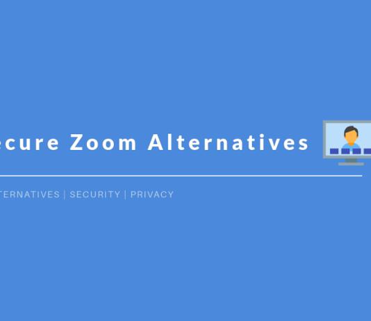 Secure Zoom Alternatives